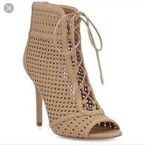 NWWOT Sam Edelman Abbie Lace Up Booties (7.5)